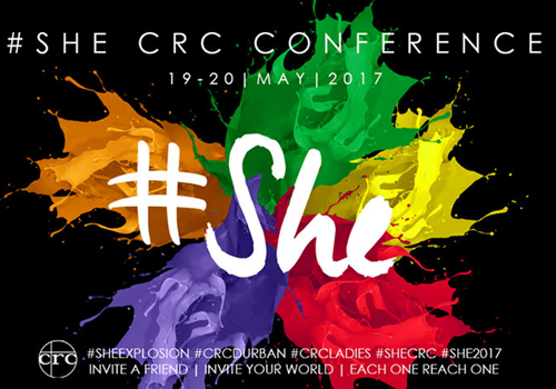 CRC #SHE Conference